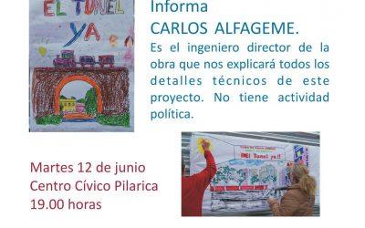 ASAMBLEA INFORMATIVA TÚNEL ANDRÓMEDA