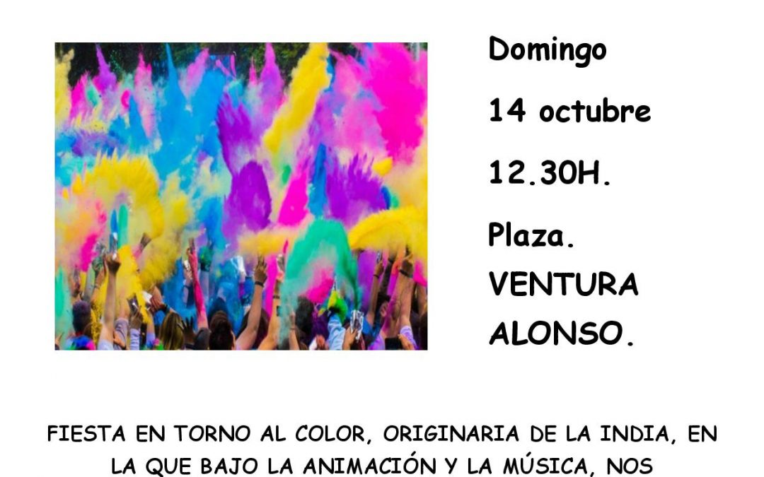 FIESTA DE COLOR – HOLI PARTY