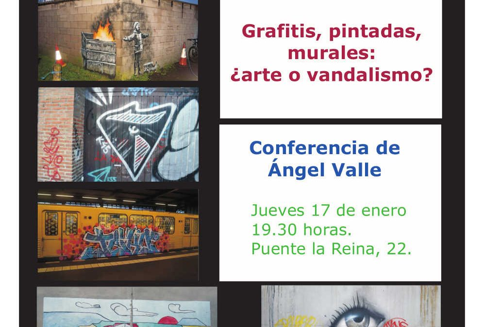 CONFERENCIA SOBRE GRAFITIS