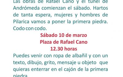 OBRAS DE RAFAEL CANO – PONEMOS LA PRIMERA PIEDRA